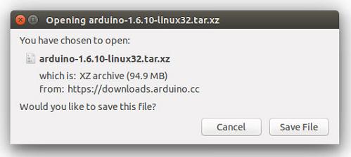 linux download - Установка Arduino (IDE) на ПК з Linux фото