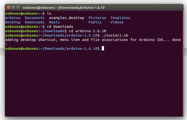linux install 2 - Установка Arduino (IDE) на ПК з Linux фото
