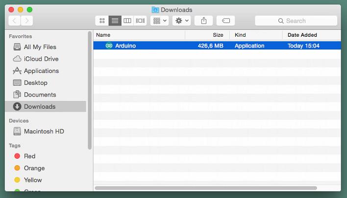mac download - Установка Arduino (IDE) на Mac з ОС X фото