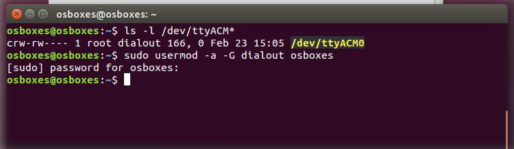 ubuntu serial - Установка Arduino (IDE) на ПК з Linux фото