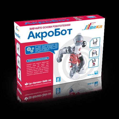 Дитячий розвиваючий конструктор – танцюючий робот АкроБот