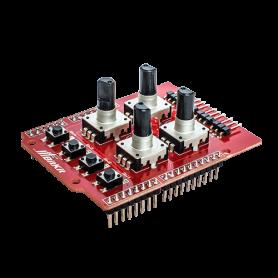 Шилд для управления манипулятором на энкодерах от BitKit