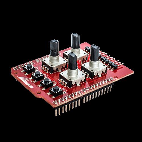 Шилд для управления манипулятором на энкодерах от BitKit фото