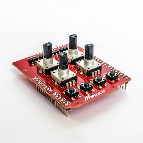 Шилд для керування маніпулятором 08 Шилд для управления манипулятором на энкодерах от BitKit фото