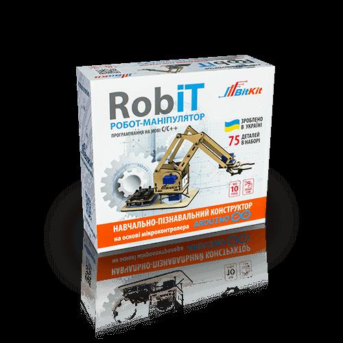 konstruktor robot manіpulyator robit 01 - Главная фото