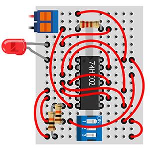 lesson 19b 1 - Урок №19 - Выключатель для коридора. Конструктор Омка фото