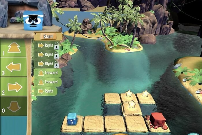 Фото Программирование для детей - игра Box Island