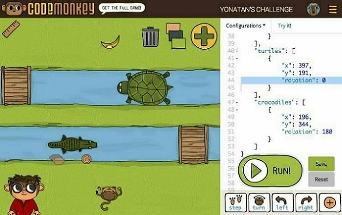 Фото Как научить ребенка программировать - CodeMonkey