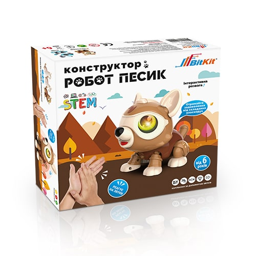 pyosik robot konstruktor bitkit pered min - Главная фото