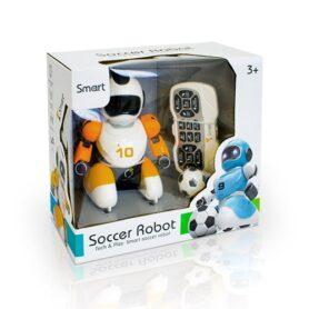 Робот футболист с пультом управления